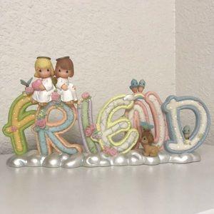 "NIB.  Rare Precious Moments ""Friend"""